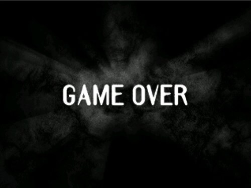 GAME OVER Game Screen Shot1