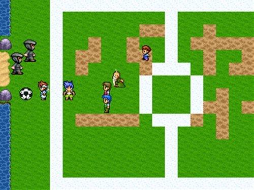 アホ達のサッカー Game Screen Shot1