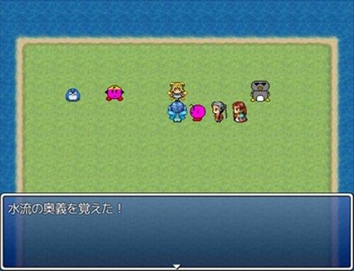 空想ヒーローズ第2話 ~水の精霊VS炎の魔人~ Game Screen Shot5