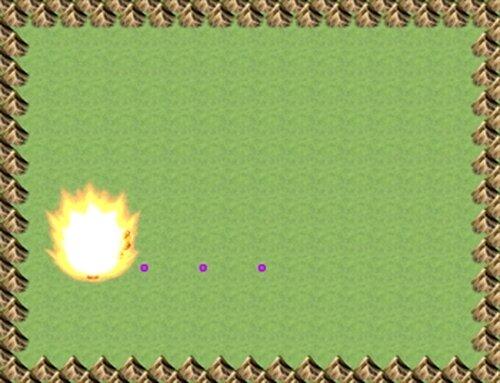 大妖精VS博麗霊夢 Game Screen Shot3