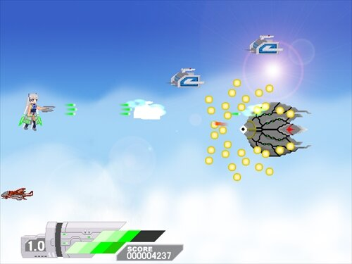 Aerial Striker Game Screen Shot
