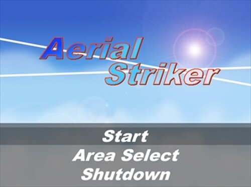 Aerial Striker Game Screen Shot2