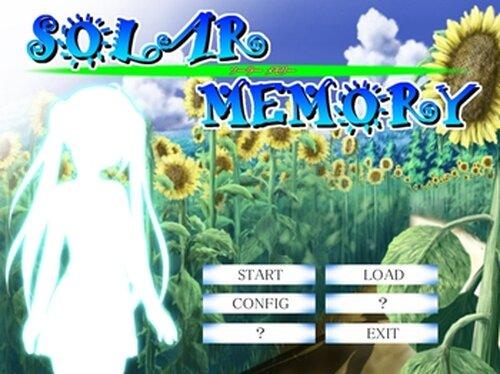 SOLAR MEMORY Game Screen Shots
