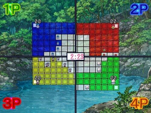 塗ります切ります繋げます。 Game Screen Shot
