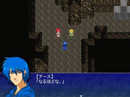 黒魔剣士アース英雄譚 Game Screen Shot1