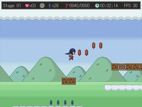 super jumping! Game Screen Shot1