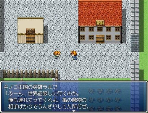 キノコ王国の伝説 Game Screen Shot1