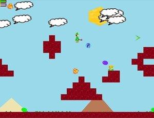 バドの冒険 Game Screen Shot