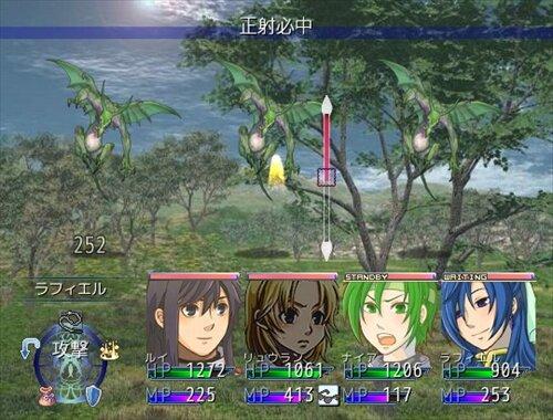 精霊の守護者~The Holy Ghost knight~【prologue】 Game Screen Shot1