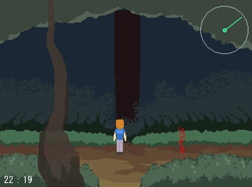 タケさま ニコニコホラーゲームフェスバージョン Game Screen Shot1