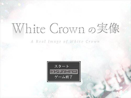 White Crownの実像 Game Screen Shot1