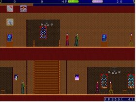 狂人達の晩餐会 Game Screen Shot4