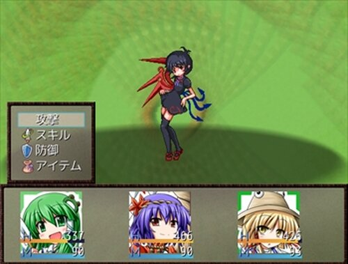東方守矢信~Transcendence of faith and shrine~ Game Screen Shot2