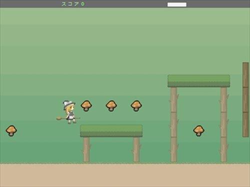 魔理沙のキノコ集め Game Screen Shot3