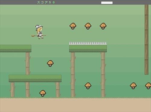 魔理沙のキノコ集め Game Screen Shots