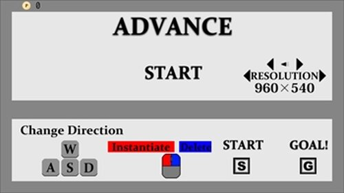 ADVANCE v1.1 Game Screen Shot2