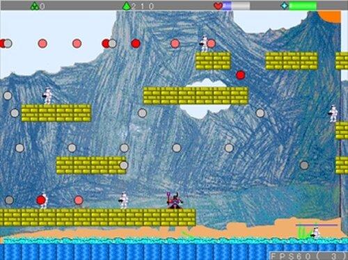 バトル戦士 Game Screen Shot5