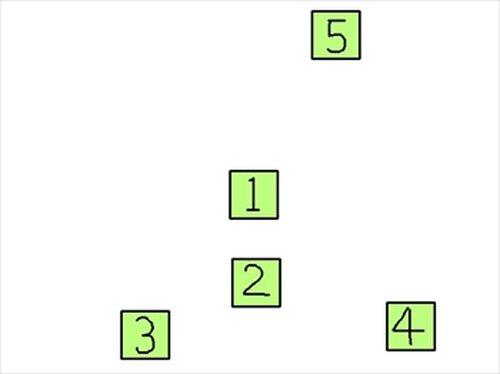 数字叩きゲーム Game Screen Shot3